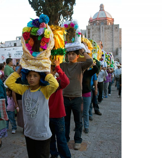 St.Jose Procession, the Oratorio, San Miguel de Allende