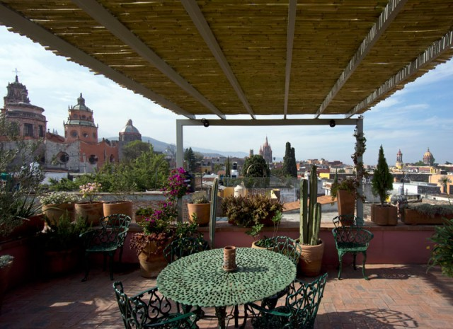 San MIguel roof view